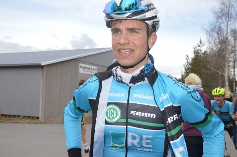 NEDTUR: Iver Johan Knotten gik på en smell i NM-tempoen torsdag.