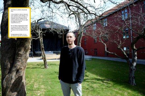 TAKKER FOR HJELPEN: Morten Ramm ble meldt inn til politiet etter å ha brukt mobilen ulovlig under kjøring.