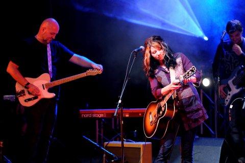 KONSERT: Linda Kvam Band kan oppleves live på Munkholmen lørdag.