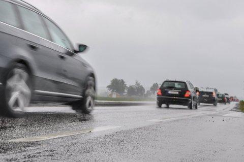 MYE REGN: Meteorologene melder om mye nedbør.