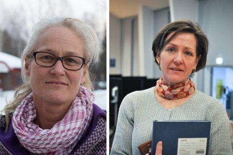 UTVIDER TESTINGEN: Kommuneoverlegene Rebecca Setsaas og Siri Fuglem Berg viser begge til strategien som av Folkehelseinstituttet omtales som «forsterket TISK».. ARKIVBILDER