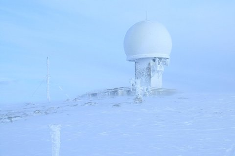 Det er friske forhold på Kjølen på Kvaløya onsdag morgen. Bildet er tatt ved en tidligere anledning.