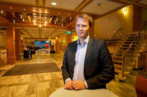 STENGER DØRENE; Lars Nymo Trulsen, banksjef i Tromsø bekrefter at Sparebank1 Nord-Norge avvikler filialen på Jekta.