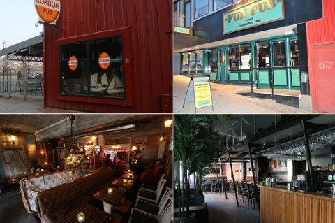 BRYTER SMITTEVERN: En rekke av byens uteplasser bryter smittvernreglene, advarer Tromsø kommune. Både Rorbua, Fun Pub, Bardus bar og Huken Brygg hadde avvik fra smittevernreglene da kommunen kom på kontroll.