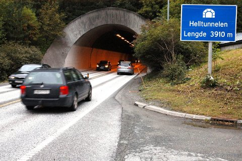 STENGES: Vegtrafikksentralen melder om stengte tunneler og omkjøring mellom Stjørdal og Trondheim i dagene og ukene som kommer.