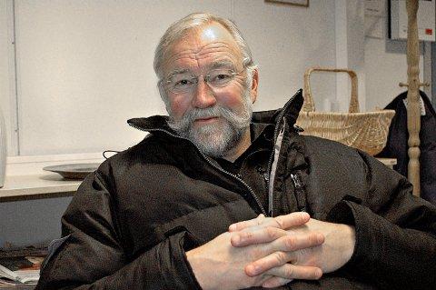 Åge Husby blir listetopp for Pensjonistpartiet ved høstens stortingsvalg. Bildet er tatt ved en tidligere anledning.