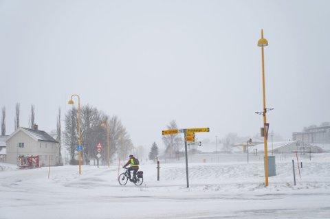 Det blir ingen sykkelturer i vårvær den kommende uka. Så langt meteorologen kan se i sine prognoser er det sludd, snø og regn som hersker.
