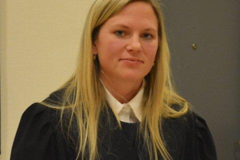 Aktor Stine  Gjøsund: La ned påstand om 75 dagers fengsel.  Retten konkluderte med 30 dager.