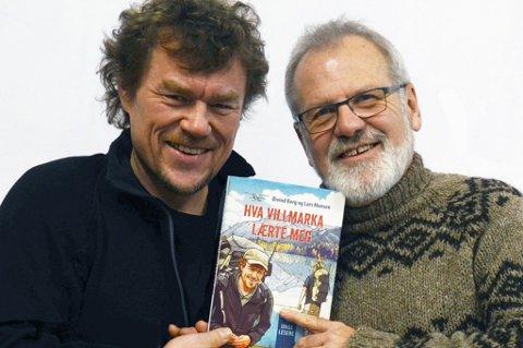 Lars Monsen og Øyvind Berg har startet på en bokserie sammen.