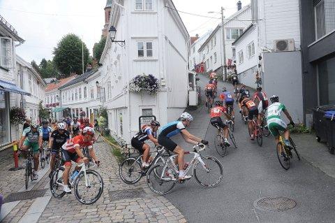 Sentrumsrittet i Tvedestrand ble arrangert første gang i 2014.