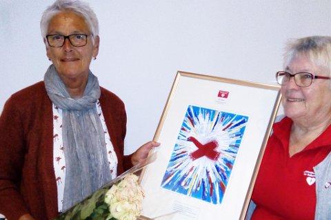 Elin Hagane mottok prisen i går.