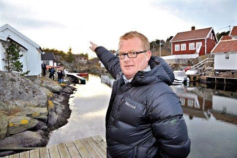 Rune Hegstad er nummer 10 på Høyres liste. Der hører han ikke hjemme, mener enkelte. Bildet er tatt for noen år siden, ved en annen anledning.
