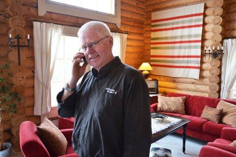 Stian Mo Færsnes klarte seg ved hjelp av en datapakke på mobilen. Arkivfoto