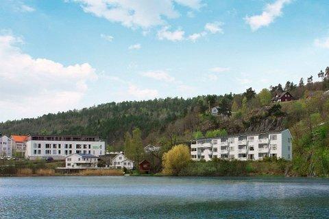 Sør Bolig AS hadde blant annet planer om å realisere dette leilighetsprosjektet ved Tjenna. Nå melder selskapet oppbud.