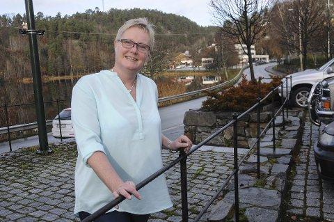 Fornøyd: Åse Selaasdal er fornøyd med at økningen i utbetalingene fra NAV Tvedestrand samsvarer med økningen på landsbasis.