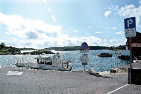I følge Fædrelandsvennen heiste politiet natt til torsdag i land speedbåten som hasjen ble fraktet i her på Nybrygga på Gjeving. (Arkivfoto)