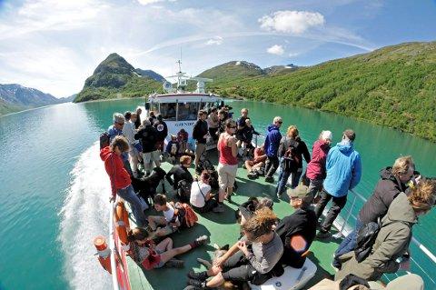 Rekord: Jotunheimen har satt ny besøksrekord i sommer.