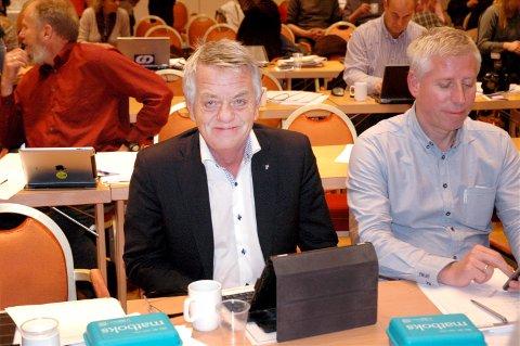 Pensjonist: Etter utallige politiske møter og diskusjoner, skal Olaf Diserud nå nyte pensjonisttilværelsen.