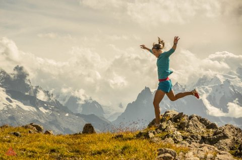 – Besseggløpet er ett av de vakreste løpene jeg har løpt noen gang, sier verdenstjerna Emelie Forsberg til avisa Valdres.