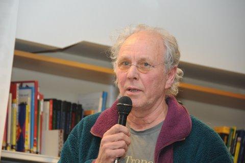 Leiar i Naturvernforbundet i Valdres, Fred Kuyper.
