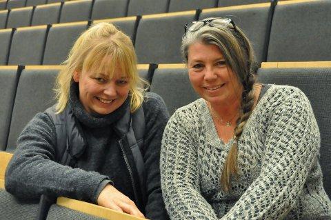 Bygdekinoen i Vang: Søndag vart filmen Snømannen vist i Vang. Ragnhild Lund var hovudtillitsvald under innspelinga. Til høgre, ei av eldsjelene for kinoen i Vang, Elisabeth Hålien.