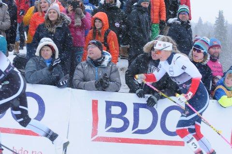 Grått: Det var grått vær både på Beitostølen og i Davos. Nå venter Mari på uttaket til Tour de ski.