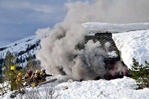 Samlede utbetalinger etter branner i hytter og fritidshus i 2015 var på 260 millioner kroner.