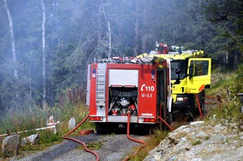 FAREVARSEL: Meteorologisk institutt har sendt ut farevarsel for skogbrann austafjells.