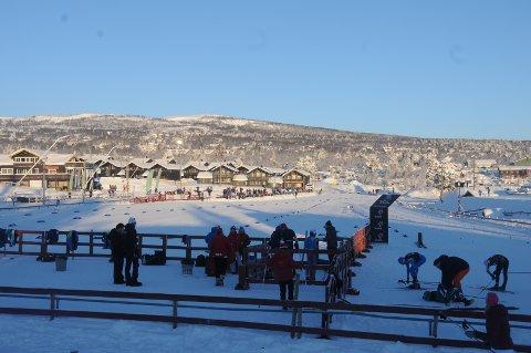 Storinnrykk: Det blir liv og røre på Beitostølen skistadion de nærmeste dagene. Allerede torsdag er det offisiell trening, mens renndagene er fredag, lørdag og søndag.