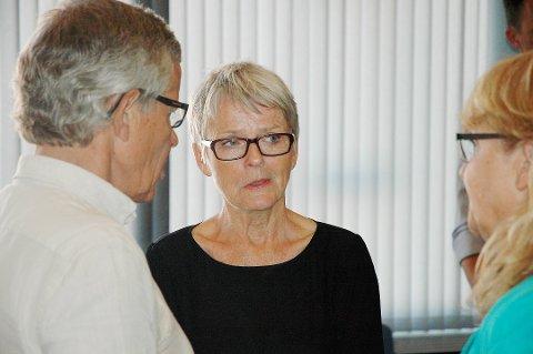 Anne Enger vil ikke kommentere forslaget om nedleggelse nå. Foto:Arkiv