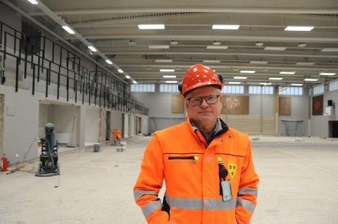 Runar Kittelsen, virksomhetsleder for teknisk og næring.
