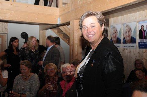 Jørand Ødegård Lunde sitter nå som styreleder i Innovasjon Norge. Hun vokter seg vel for å bli en del av det offentlige ordskiftet om daglig leders fremtid.