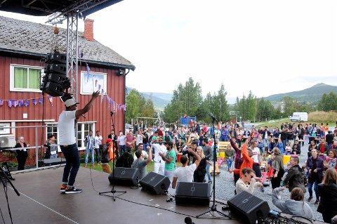 Saeed: Taha Saeed frå Jemen spelte på festivalen i 2017, og tek turen frå Drammen for å spele arabiske, dansbare rytmer også i år.