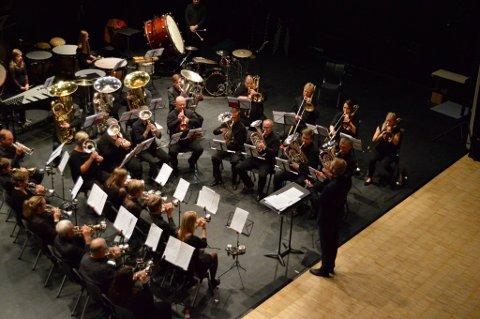 Valdres Brass Band tok turen over Valdresflye lørdag for å delta i den årlige korpscupen som avholdes på Otta.