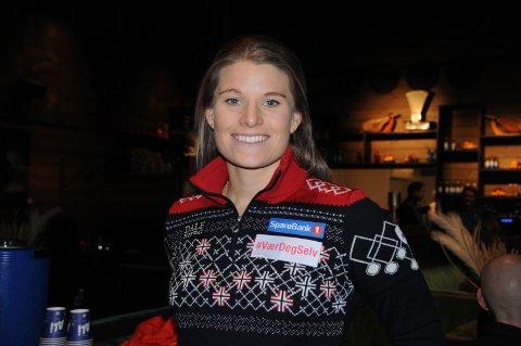 Sjukdom: Mari Eide har hatt bedre følelse dagen før dagen enn det hun satt med på Lodge 900 på Beitostølen torsdag ettermiddag.