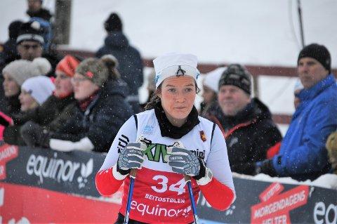 Skeptisk: Maren Wangensteen er nå reindyrka langrennsløper, men var ikke fornøyd med 33. plassen på Beitostølen lørdag.