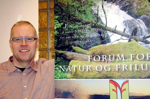 Fornøyd: Ole Morten Fossli i Forum for natur og friluftsliv er glad for at anbefalinga fra Miljødirektoratet og Riksantikvaren følger deres syn om vindmøller.