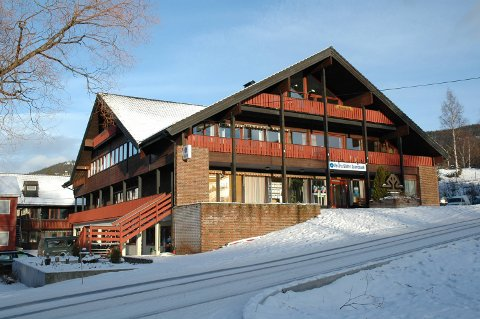 Nye lokale: Det blir truleg ungdomsklubb i lokala kommunen disponerer over sparebanken i Slidre.