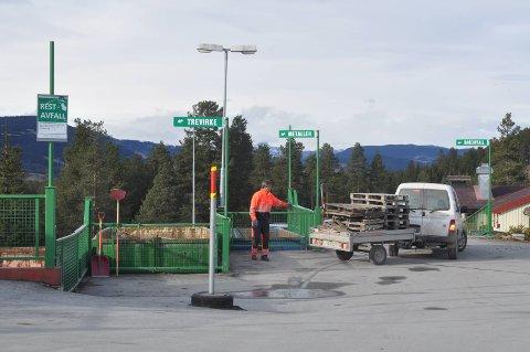 Rebne: Hovudanlegget til Valdres kommunale renovasjon (VKR) ligg inne i planomrdet for Rogndokken industriomrde