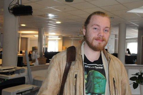 Flytter: Christian Aa Haugen flytter mest sannsynlig fra Valdres, etter at Schibsted signaliserer nedleggelse av kundesenteret på Fagernes.