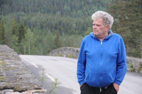 Snart stille: Om få uker blir det betydelig roligere forbi huset til Arild Kristiansen og mora Reidun Kristiansen.