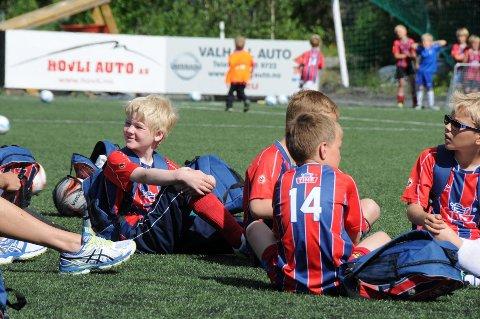 Fotballskole: Det kan bli fine øyeblikk på Blåbærmyra i slutten av juni, når Fagernes Idrettslag legger til rette for tre dager med fotball for de i aldersklassen seks til og med 13 år.