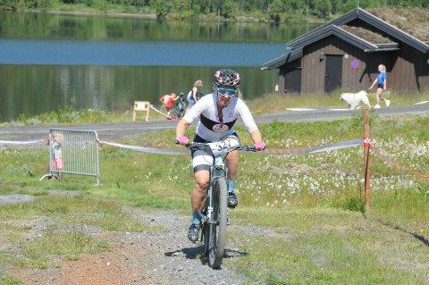 Charlotte Lie fra Sagene var ei av 47 damer som syklet det 53 kilometer lange Valdresrittet på Vaset sist lørdag.