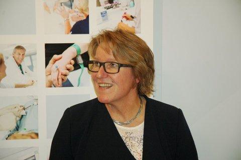 Alice Beathe Andersgaard er  administrerende direktør ved Sykehus Innlandet Foto: Kjell Haugerud