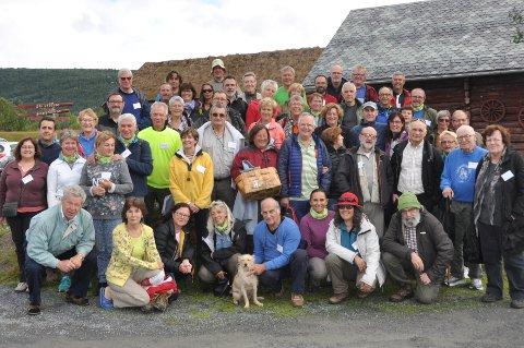 Deltakerne fra soppkongressen i 2017.