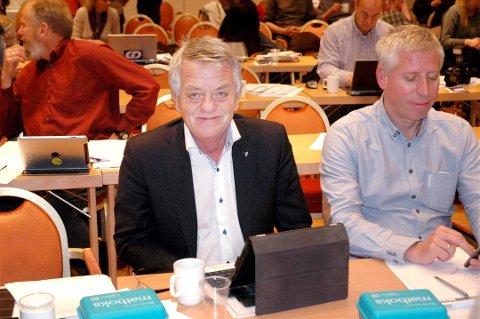 Olaf Diserud er ferdig som politiker, men mener fortsatt sterkt om partiet sitt. Foto:Arkiv