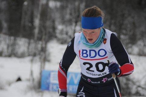 Best i friteknikk: Maren Wangensteen gikk tre renn på tre dager på Sjusjøen, og var klart best i ti kilometer friteknikk lørdag.