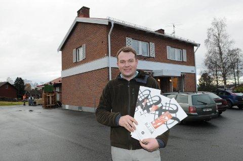 SATSER: Jørn Wangensten øker rakfiskproduksjonen i Sverige.