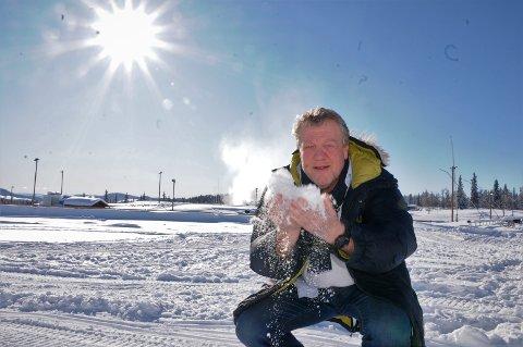 Ingen frykt: Erik Østli tar coronaviruset med knusende ro, og tror Norges Skiforbund gjør en riktig avgjørelse med tanke på å arrangere neste helgs junior-NM på Beitostølen eller ikke.