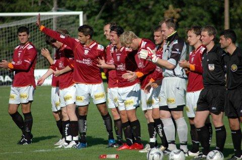 Sterkt lag: Valdres FKs stjernegalleri, kan man godt kalle  disse spillerne fra 12 år tilbake.